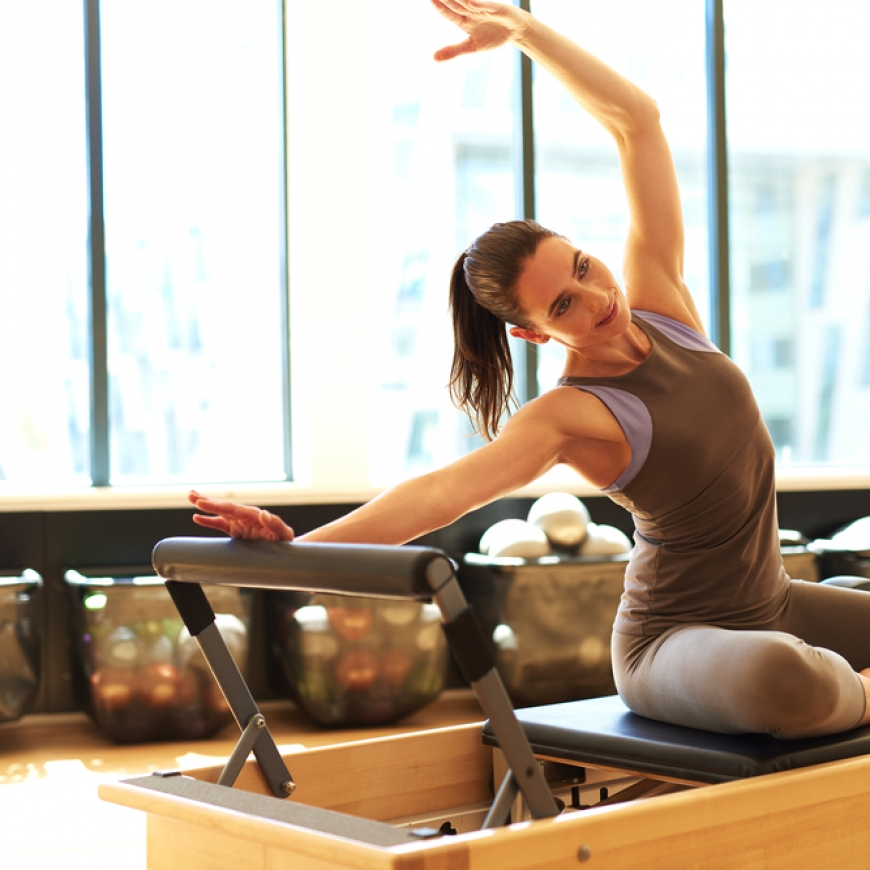 PILATES MÁQUINA: el ejercicio ideal para cuidarte