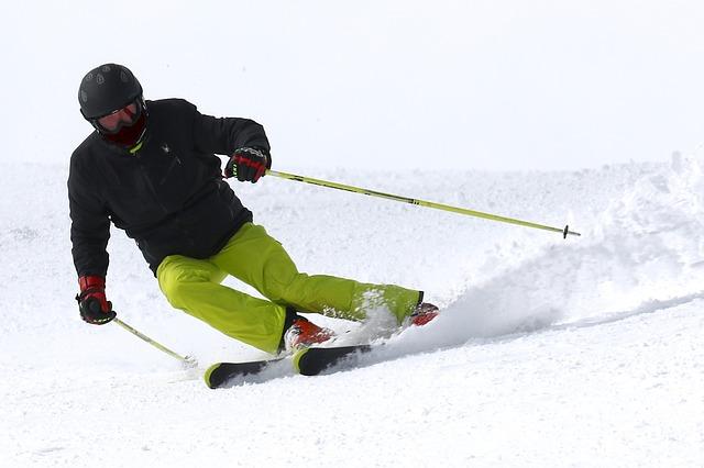La práctica del esquí: lesiones comunes.